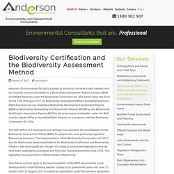 News – Anderson Environmental