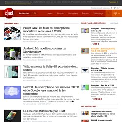 News Android, top actu Android