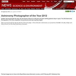 Astronomy Photographer of the Year 2012