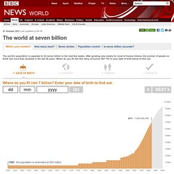 BBC Global population interactive