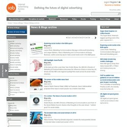 IAB UK Social » In social media, you have to earn it…