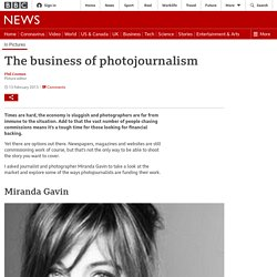 The business of photojournalism
