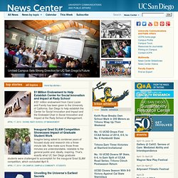 UC SAN DIEGO NEWS CENTER