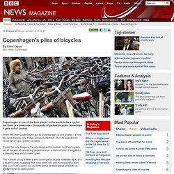penhagen's piles of bicycles