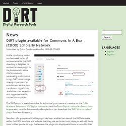 DiRT Directory