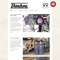 Donhou Bicycles | Custom made bicycle frames Donhou Bicycles