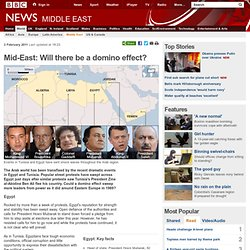 Mid-East: Will there be a domino effect?