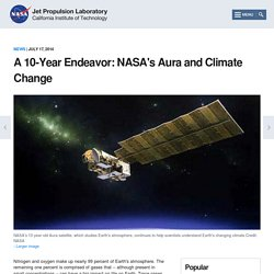 A 10-Year Endeavor: NASA's Aura and Climate Change