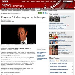 Foxconn: 'Hidden dragon' out in the open