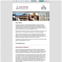 News from Nalanda