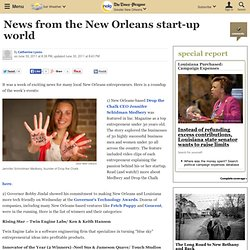 News from the New Orleans start-up world