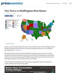 Fox News vs Huffington Post States