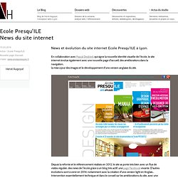 News du site internet Ecole Presqu'ILE à Lyon