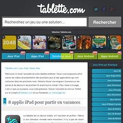 Astuce iPad