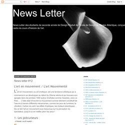 News Letter: News letter #12