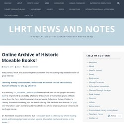 News – LHRT News and Notes