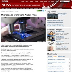Microscope work wins Nobel Prize