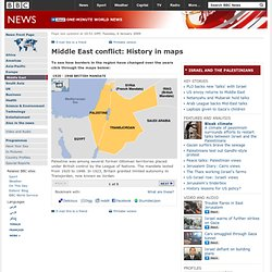 Middle East conflict: History in maps