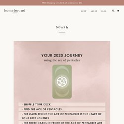 News – Page 2 – Homebound Tarot