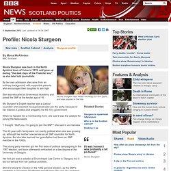 Profile: Nicola Sturgeon