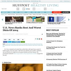 U.S. News Ranks Best And Worst Diets Of 2014