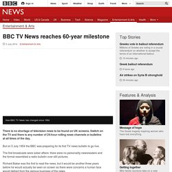 TV News reaches 60-year milestone