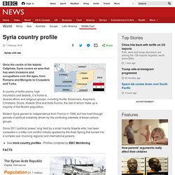 Syria profile - Overview