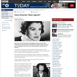Today - Coco Chanel: Nazi agent?