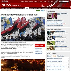 News - Ukraine's revolution and the far right