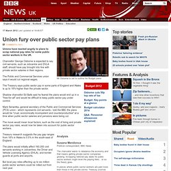 Chancellor George Osborne to 'scrap public sector national pay rates'
