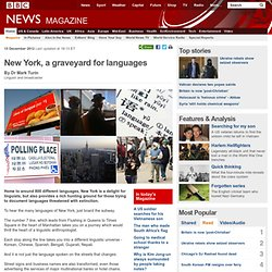 New York, a graveyard for languages - FrontMotion Firefox