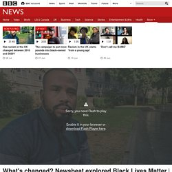 Has racism in the UK changed between 2016 and 2020?