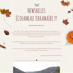 NewsBelles d'hiver de l'Écohameau Terramaïre !!!