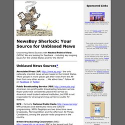 Sherlock - Your News Source