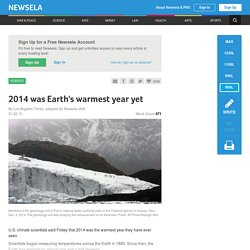 2014 was Earth's warmest year yet