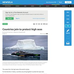 Countries join to protect high seas
