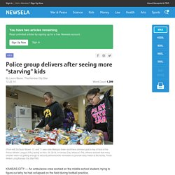 "Police group delivers after seeing more ""starving"" kids"
