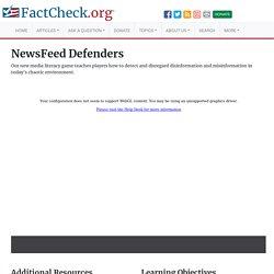 NewsFeed Defenders