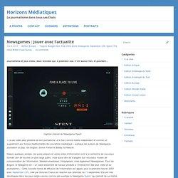 Newsgames : jouer avec l'actualité