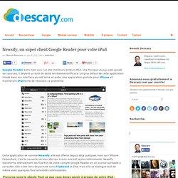 Newsify, un super client Google Reader pour votre iPad