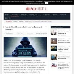 NewsJacking 2.0 une aubaine pour les Community Managers