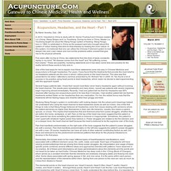 Points Newsletter - Acupuncture, Headaches, and the Heart - Part 1 - March 2015