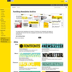 Font Newsletter Archive