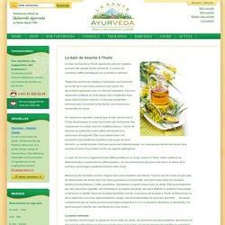 Newsletter - Le bain de bouche à l'huile