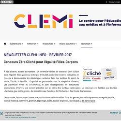 Newsletter CLEMI-INFO - Février 2017- CLEMI