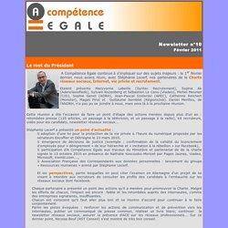 Newsletter A Compétence Egale n°10