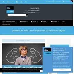 [Newsletter #80] Les compétences du formateur digital