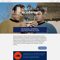 En Digital Learning, l'UX n'est pas du luxe