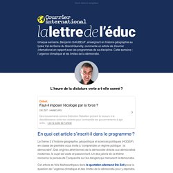 Newsletter educ from 11 mars 2020