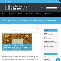 [Newsletter #134] Les 3 axes d'évaluation d'un dispositif de formation